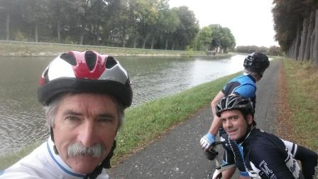 Selfie near King Albert Canal