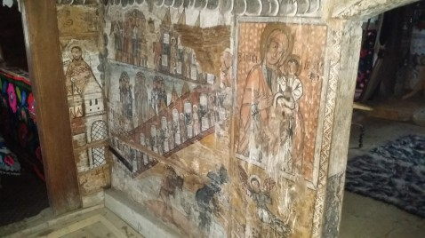 Some wall paintings from the 15th and 16th Centuries.