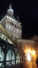 Sighisoara at night