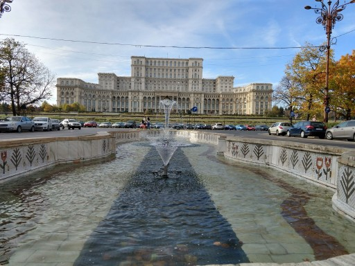The largest building in Europe was the work of the corrupt Communist government of Ceausescu that bilked off billions at the expense of the nations masses.