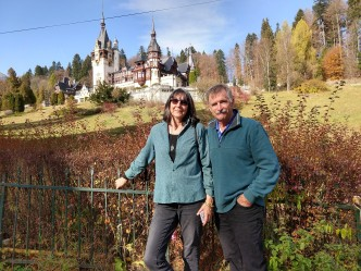 The weather was fabulous for our visit to Peles Castle.