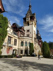 The Neo-Renaissance castle was newer than most, constructed in 1873.