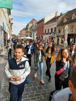 The youth of Cluj were abundant and curious about their changing world.