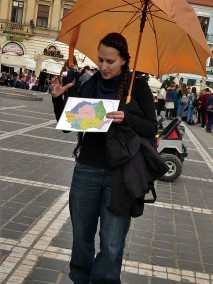 Our tour leader, Emmy, was a dynamic, iformed and optimistic guide.
