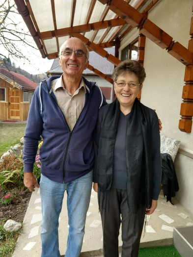 """Both """"pensioat"""" (retired) Aron and Maria work non-stop running this guest house, making meals, making palinka and wine, running their small farm and volunteering in the local church."""