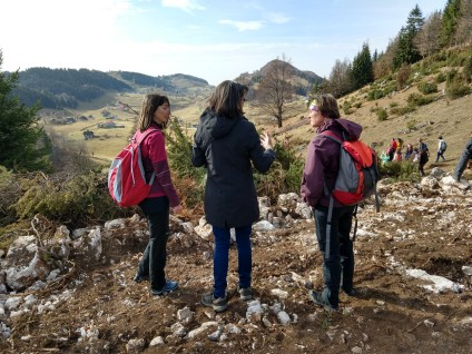 Ioana and Rebecca hear from Natalie how the huge development is ripping into the mountainside without regard to the environment. No IEP process here.