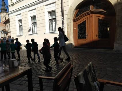 More kids in Cluj.