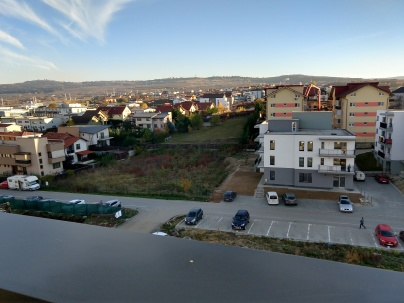 The view from Adi and Carmen's apartment.